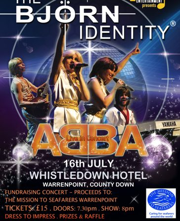 Abba Night Fundraiser – The Bjorn Identity at Whistledown Hotel