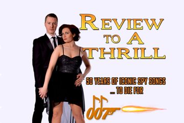 Review to a Thrill James Bond Themed Band Ireland