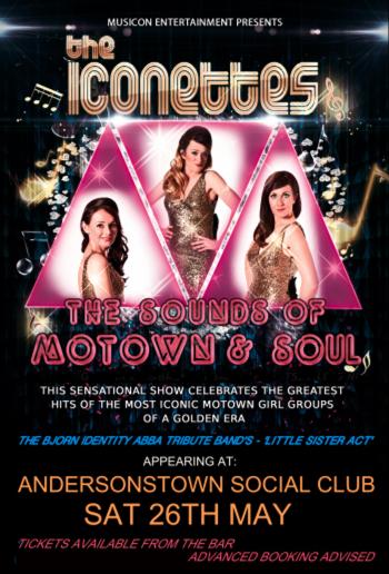 Motown acts Belfast