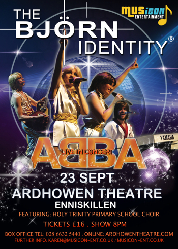 Abba Tribute the Bjorn Identity gigs dates