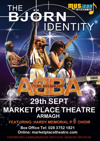 Abba Tribute band concert, dates, gigs, show date 2017 Armagh