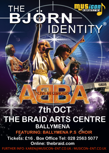 Abba Tribute band Ireland show dates, theatre, concerts, tickets 2017