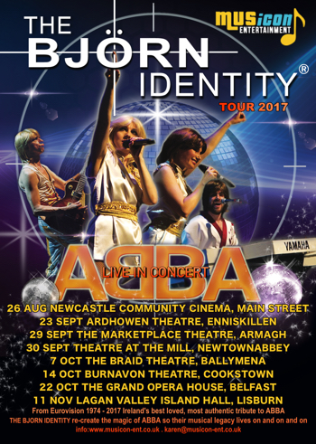 abba tribute band gigs, dates, theatre shows, ireland grand opera house belfast