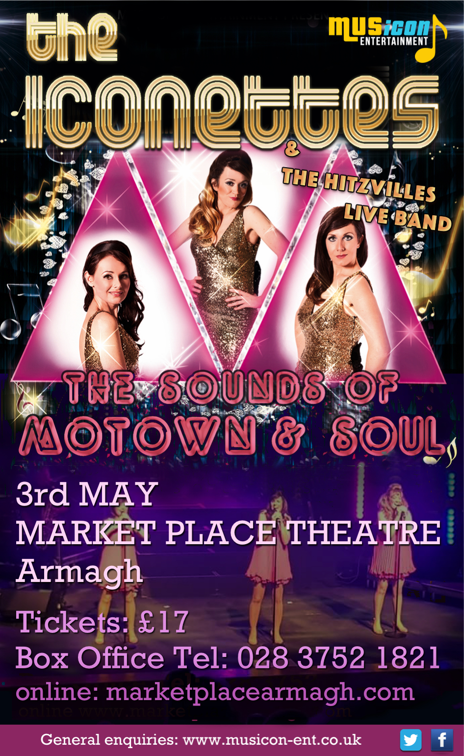 The Iconettes - Motown & Soul Band Northern Ireland