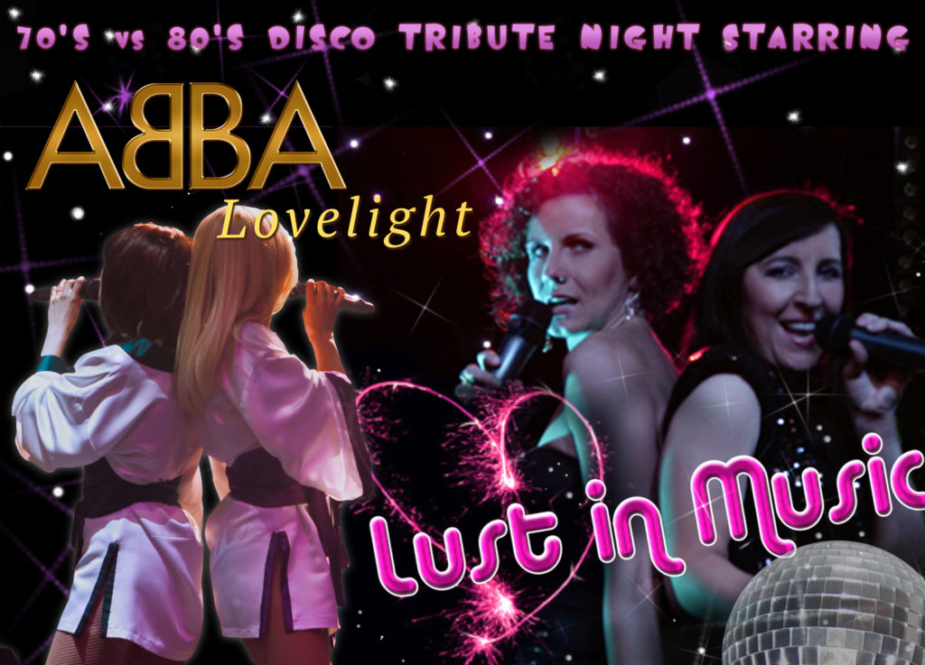 Double tribute show Abba and 80s band Northern Ireland