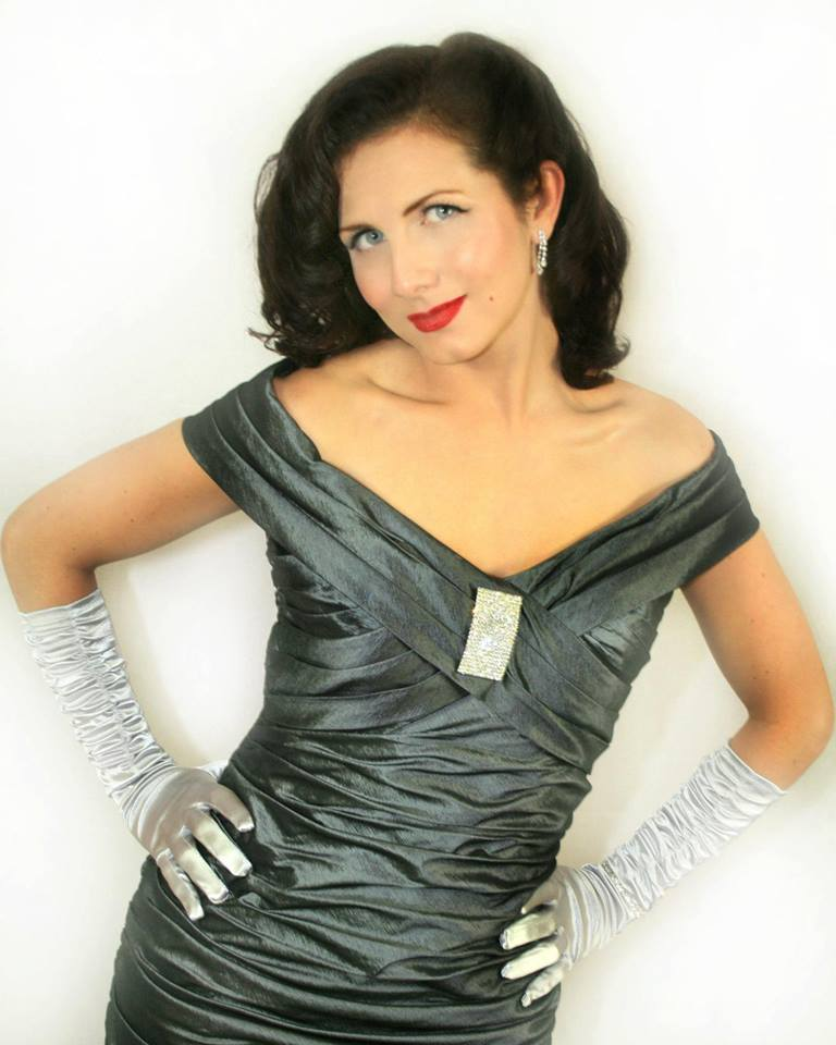 vintage swing cabaret singer Northern Ireland