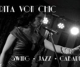 Miss Rita Von Chic vintage wedding cabaret act Northern Ireland